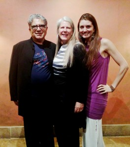 So grateful and blessed to teach a workshop on Whole Brain Joy with internationally renowned neuroanatomist, inspirational speaker, and best-selling author, Jill Bolte-Taylor, and to share a stage with the brilliant gifts of Deepak Chopra.